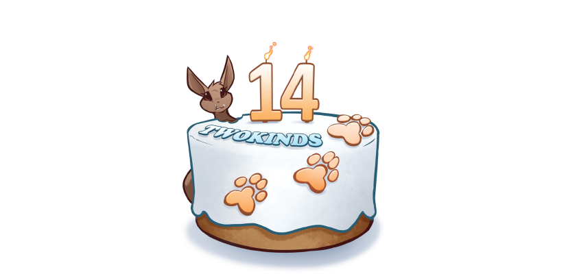 Twokinds 14th Birthday!